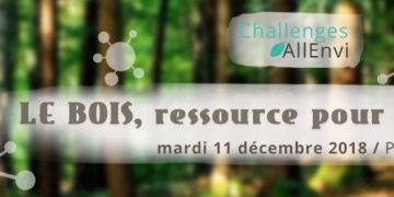 Journée Challenges AllEnvi - Le bois, ressource pour la chimie