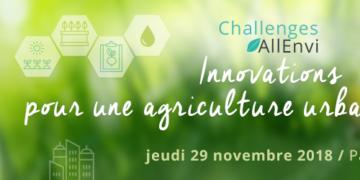Journée Challenges AllEnvi - Innovation pour une agriculture urbaine durable