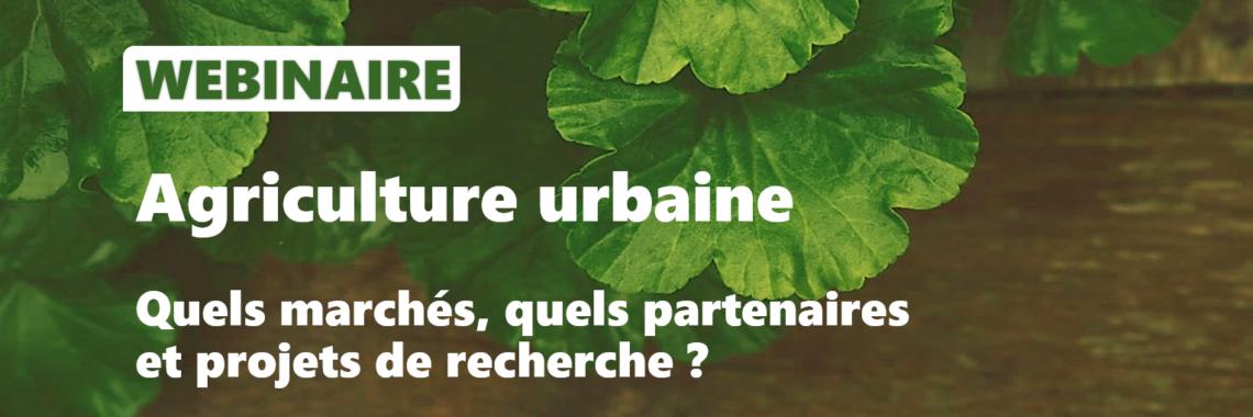 WEBINAIRE – Agriculture urbaine